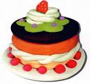 橡皮泥手工制作教程:蛋糕