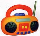 橡皮泥手工制作教程:收音机